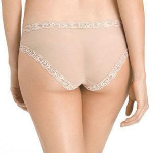 Natori 753023 Feathers Hipster Panty NUDE M NWT Intimates & Sleepwear - Natori 753023 Feathers Hipster Panty NUDE M NWT